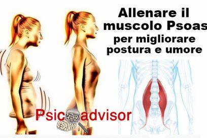 Gli effetti delle emozioni sul Muscolo Psoas e sulla postura.