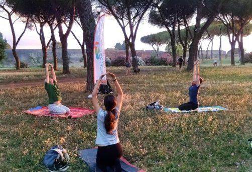 Lezioni al Parco Degli Acquedotti   Yoga e Ginnastica Posturale